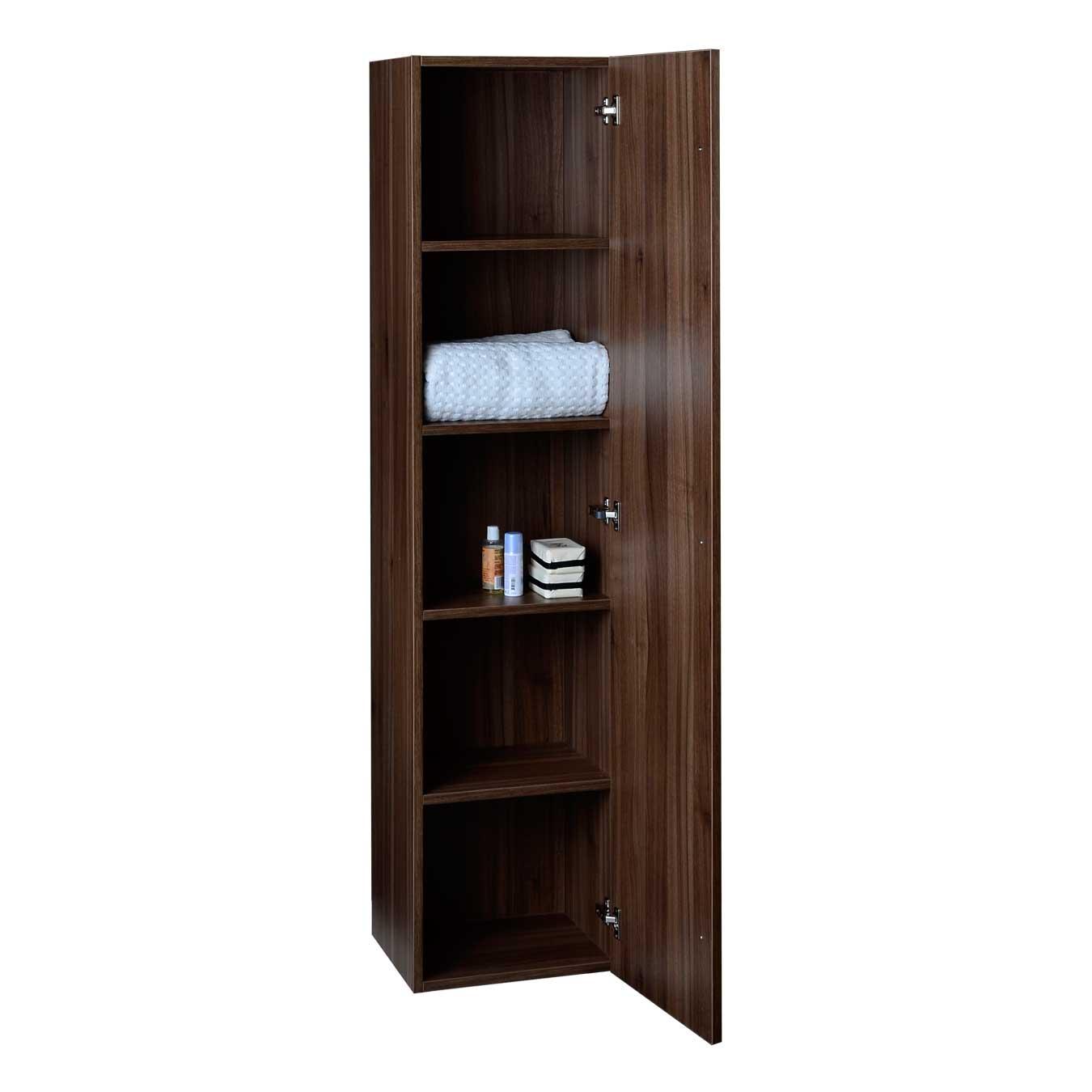 Buy 16 Quot X 67 Quot Linen Cabinet In Walnut Tn N1200 Sc Wn On