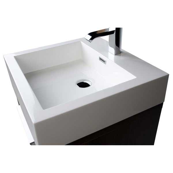 20 Inch Bathroom Vanity Set Espresso TN L500 GO