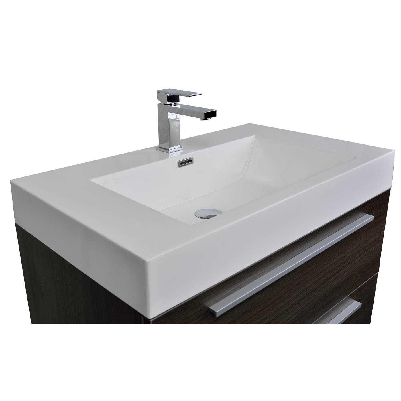 fresca wall hung modern bathroom vanity tn m800 go - Bathroom Vanities Bay Area