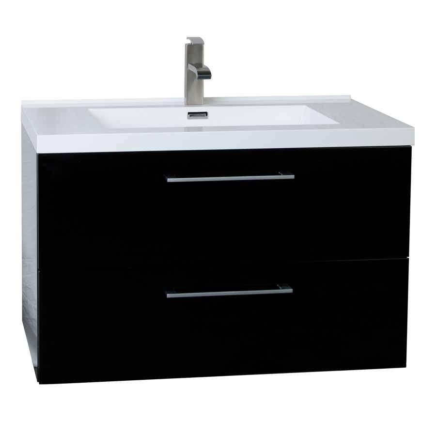 33 5 wall mount contemporary bathroom vanity set black tn ta860 hgb