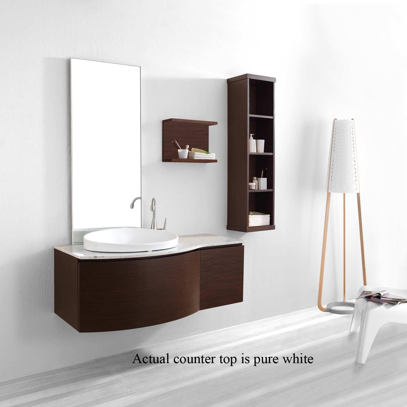 Modern Bathroom Vanity Solid Wood Free Shipping VMVIRW - Bathroom vanities fort lauderdale