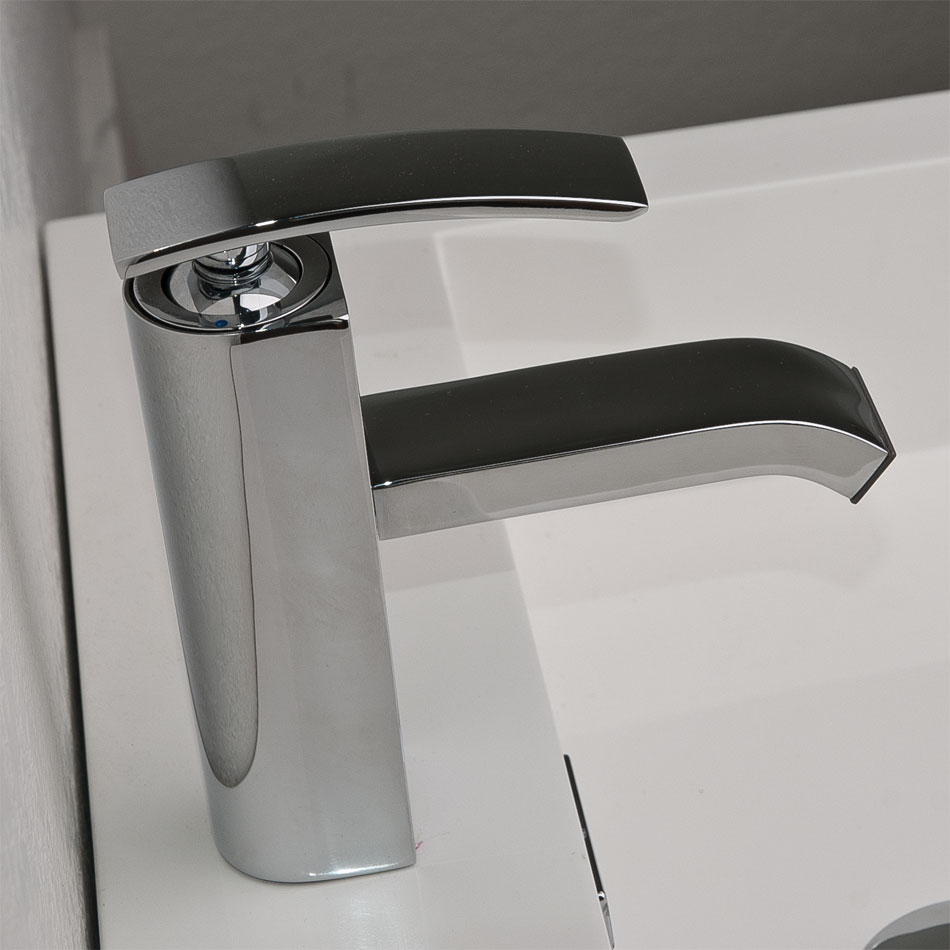 cbi m11001081c ouli single hole bathroom faucet in chrome