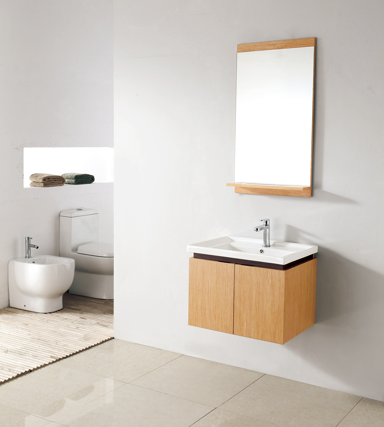 wall mount bathroom cabinet. Pesaro 23.5\ Wall Mount Bathroom Cabinet B