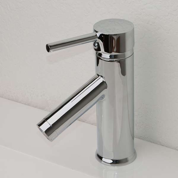 One Hole Bathroom Faucet : Bathroom Faucet Single Hole Kadaya M11016-531C - Conceptbaths.com