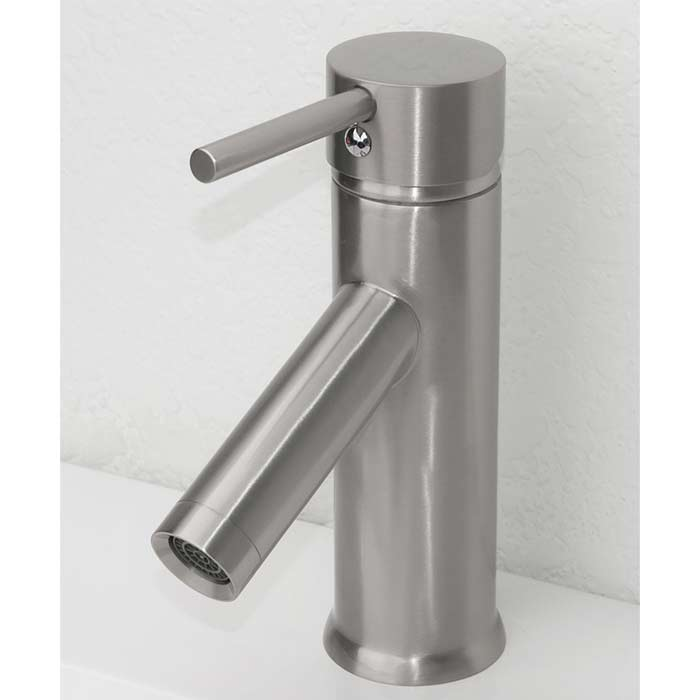 CBI Kadaya Single Hole Bathroom Faucet In Brushed Nickel M11016 531B