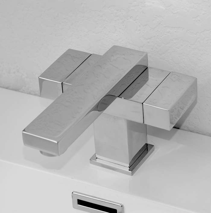 CBI Seagull Single Hole Bathroom Faucet In Brushed Nickel M11089 872C.