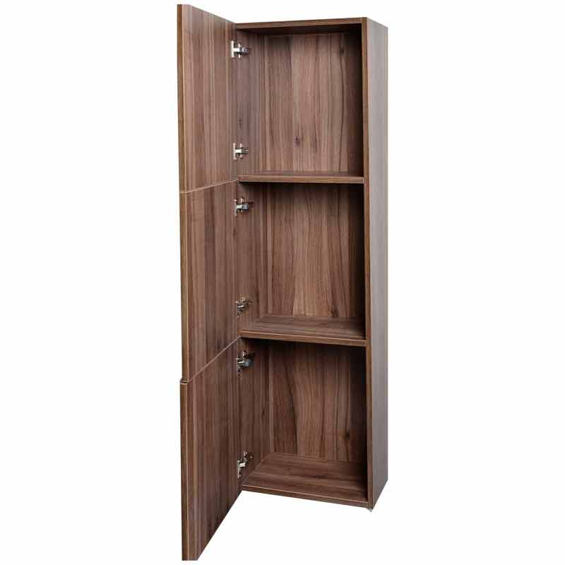 Buy 18 Quot Walnut Linen Cabinet Tn T730 Sc Wn On Conceptbaths Com