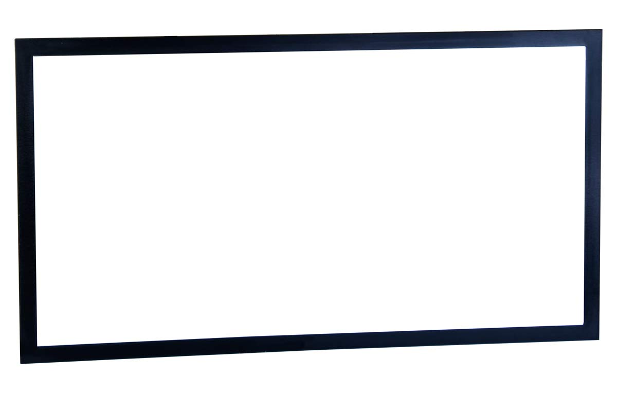 Buy framed wall mirror in w x 29 5 in h black tn for Black wall mirror