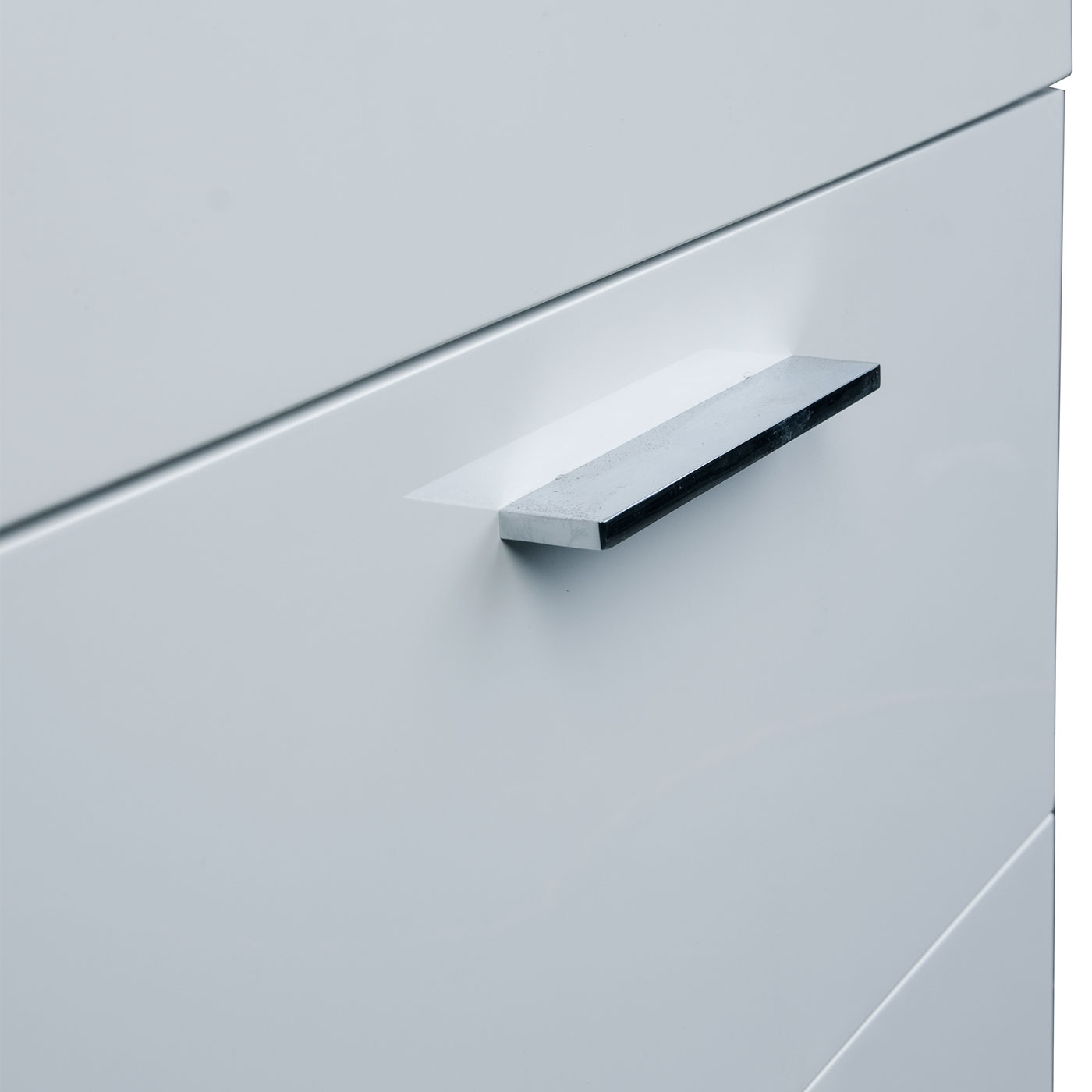 Buy 22.75 In. Single Bathroom Vanity Set High Gloss White TN-T580 ...