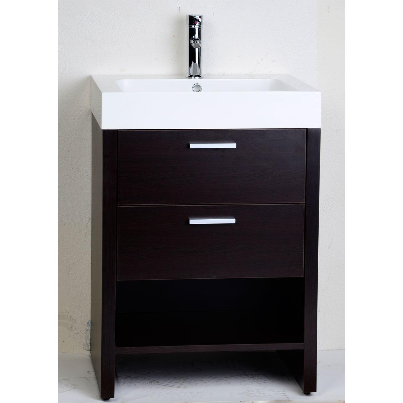 24 Inch Vanity 24 Lander Vanity White Bathroom. 24 Everett Vessel Sink  Vanity Black Bathroom. 24 Lander Vanity White Bathroom. - Archives