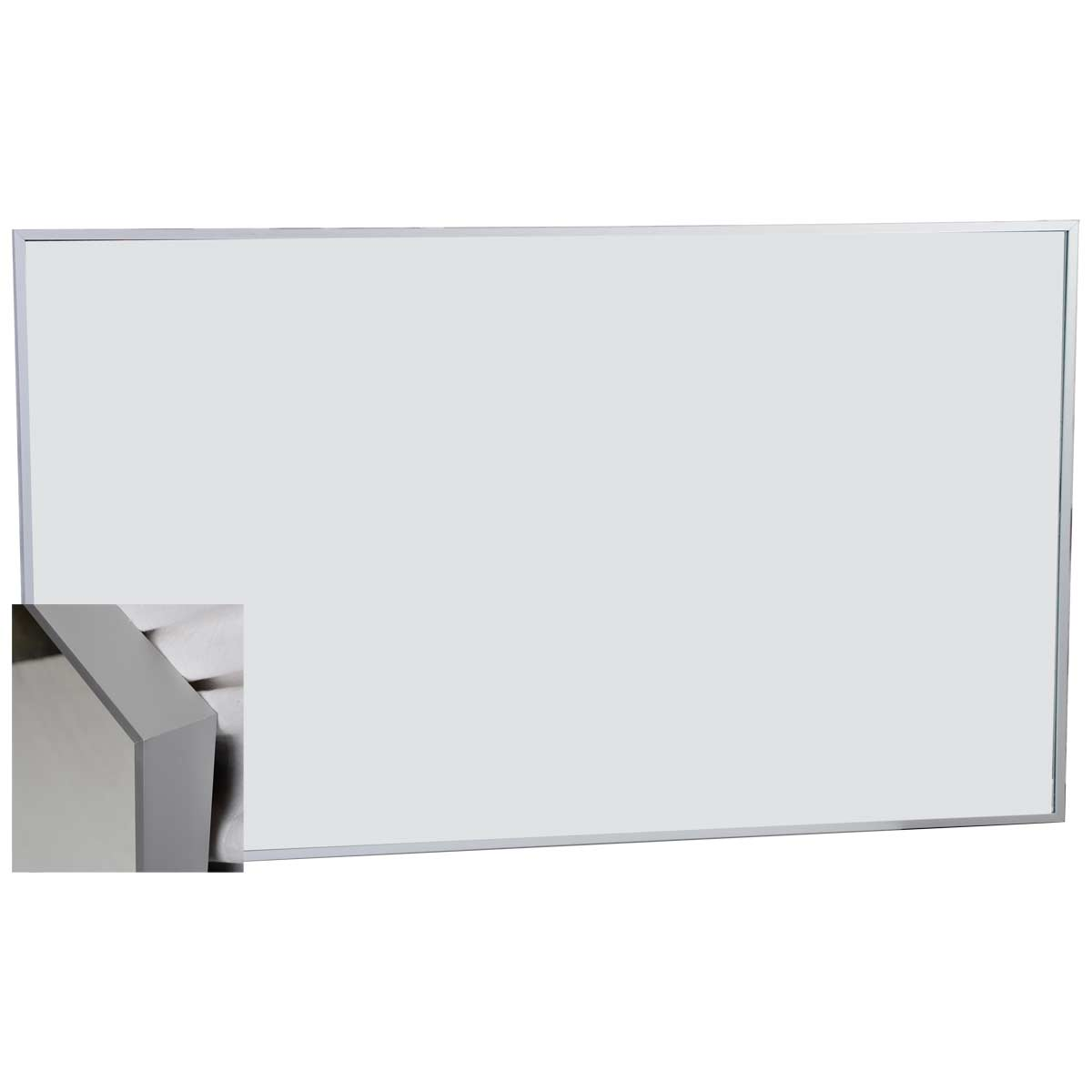 Camino 595 inch modern double vanity set wall mount walnut tn 59 metal framed wall mirror amipublicfo Choice Image