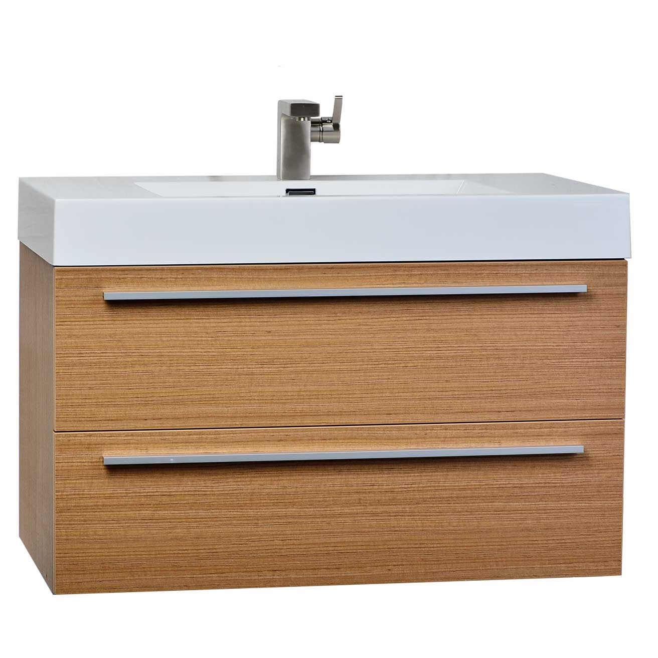 Buy 35.5 In. Wall-Mount Contemporary Bathroom Vanity Light Teak TN-M900-PT on Conceptbaths.com ...