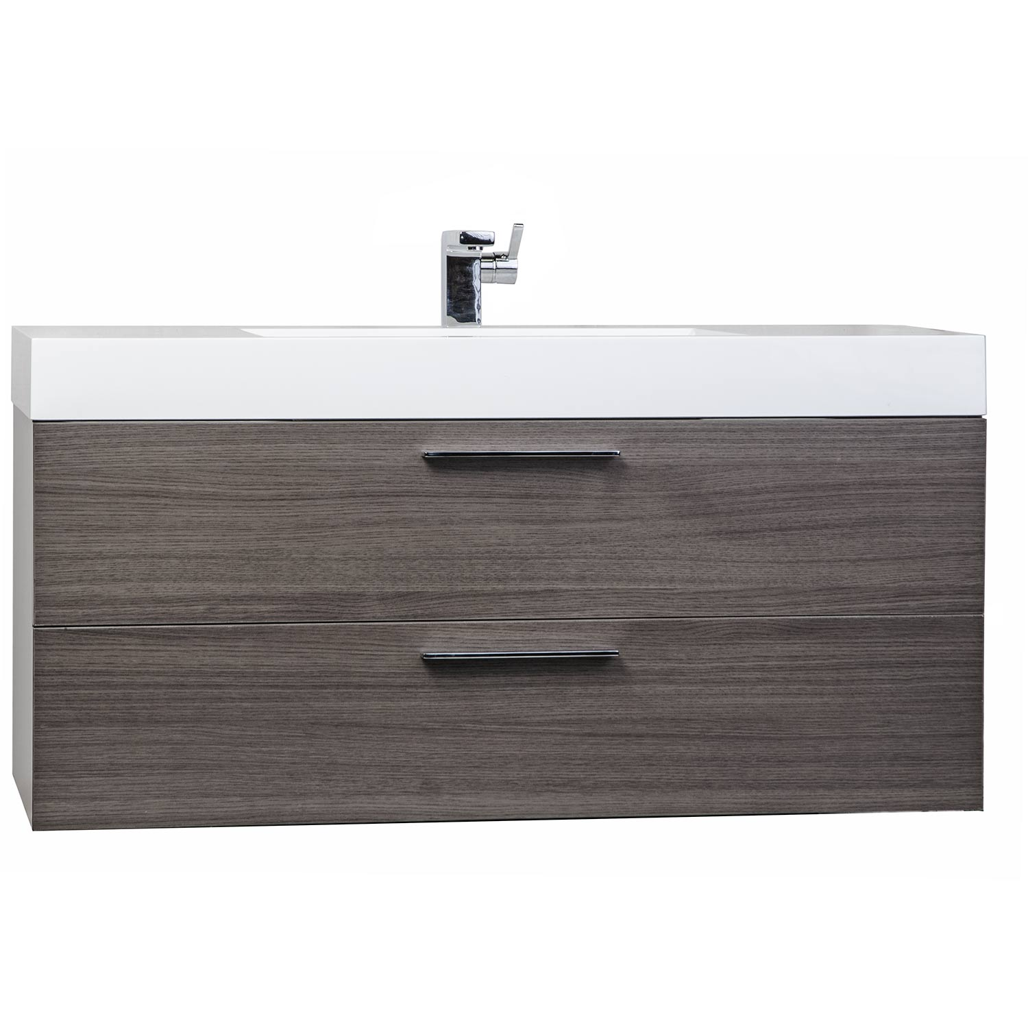 contemporary bathroom vanity grey oak optional legs rsl  -  contemporary bathroom vanity grey oak rslgo