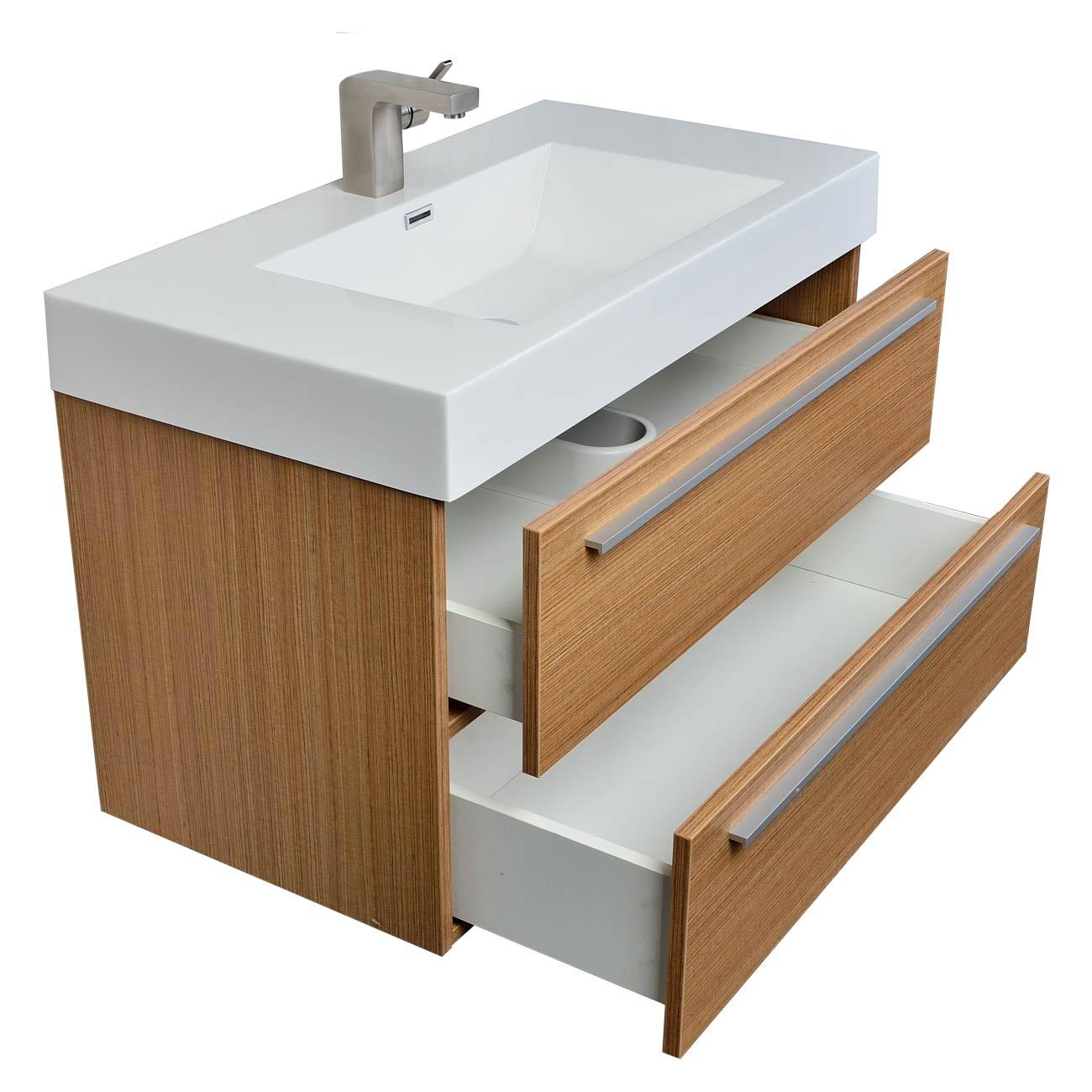Buy  In WallMount Contemporary Bathroom Vanity Light Teak TN - Contemporary bathroom vanity lighting