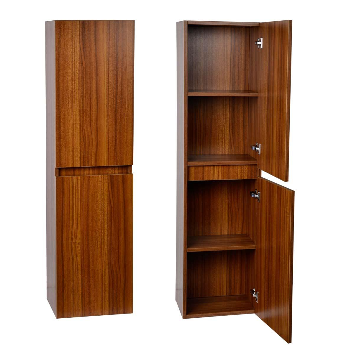 Buy 16 Quot X 59 Quot Linen Cabinet In Walnut Tn A1000 Sc Tk On