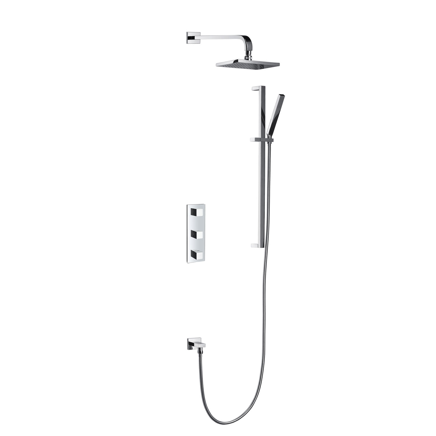 Shower System Two Outlet JD