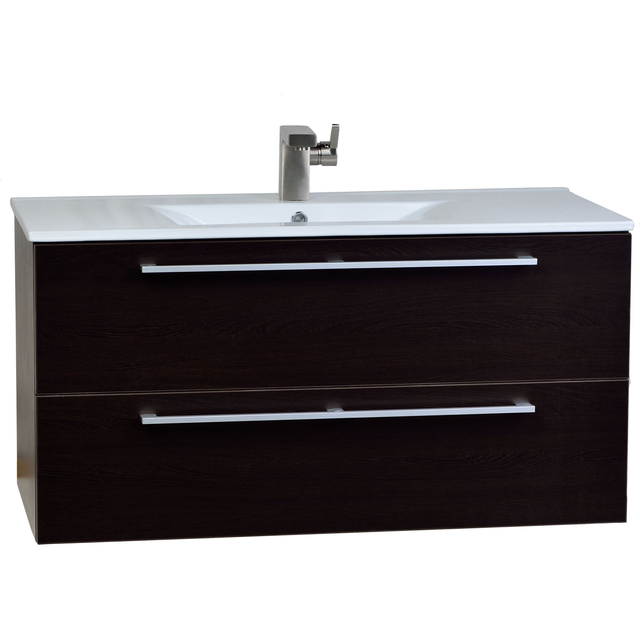 Buy Caen 40 Wall Mount Modern Bathroom Vanity Set