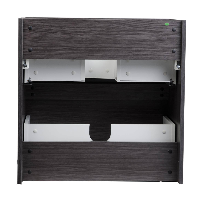 29 5 Contemporary Bathroom Vanity Black Sable Tn Ly750 Bs