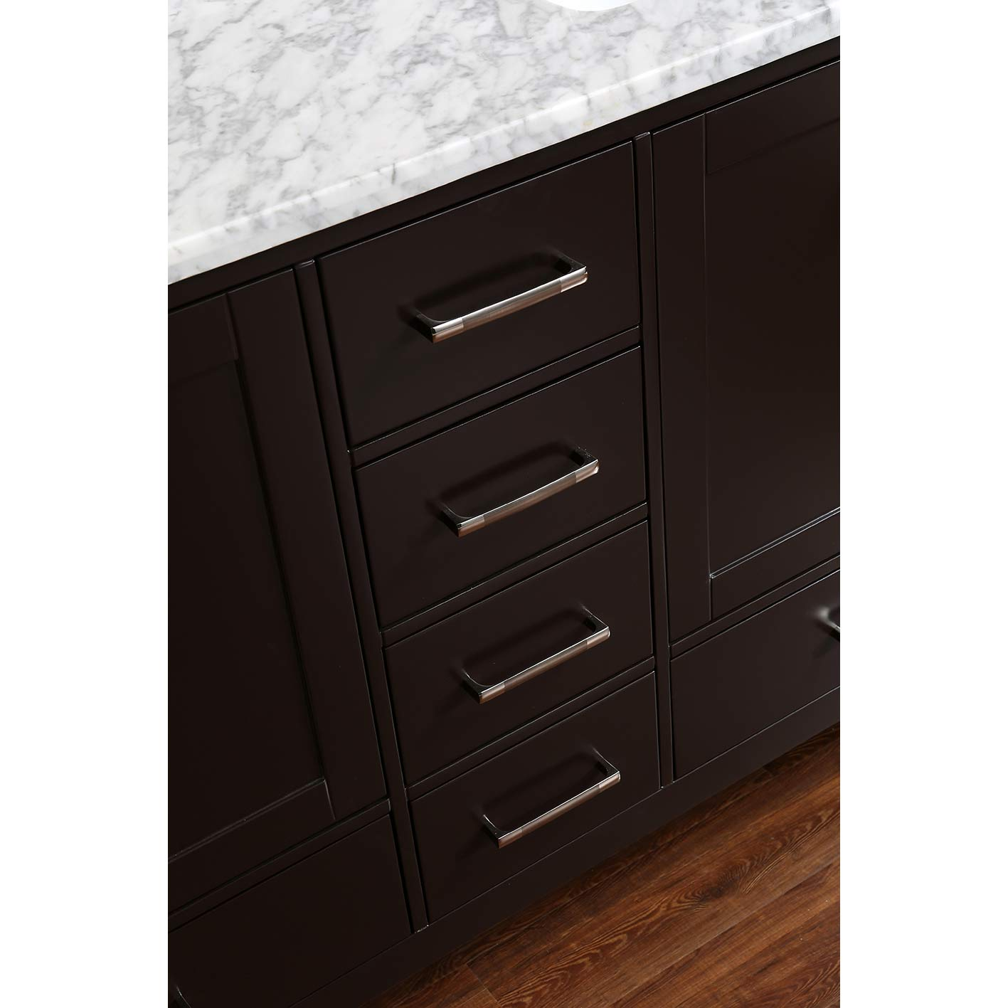 Buy vnicent 60 solid wood double bathroom vanity in for Bathroom cabinets 60