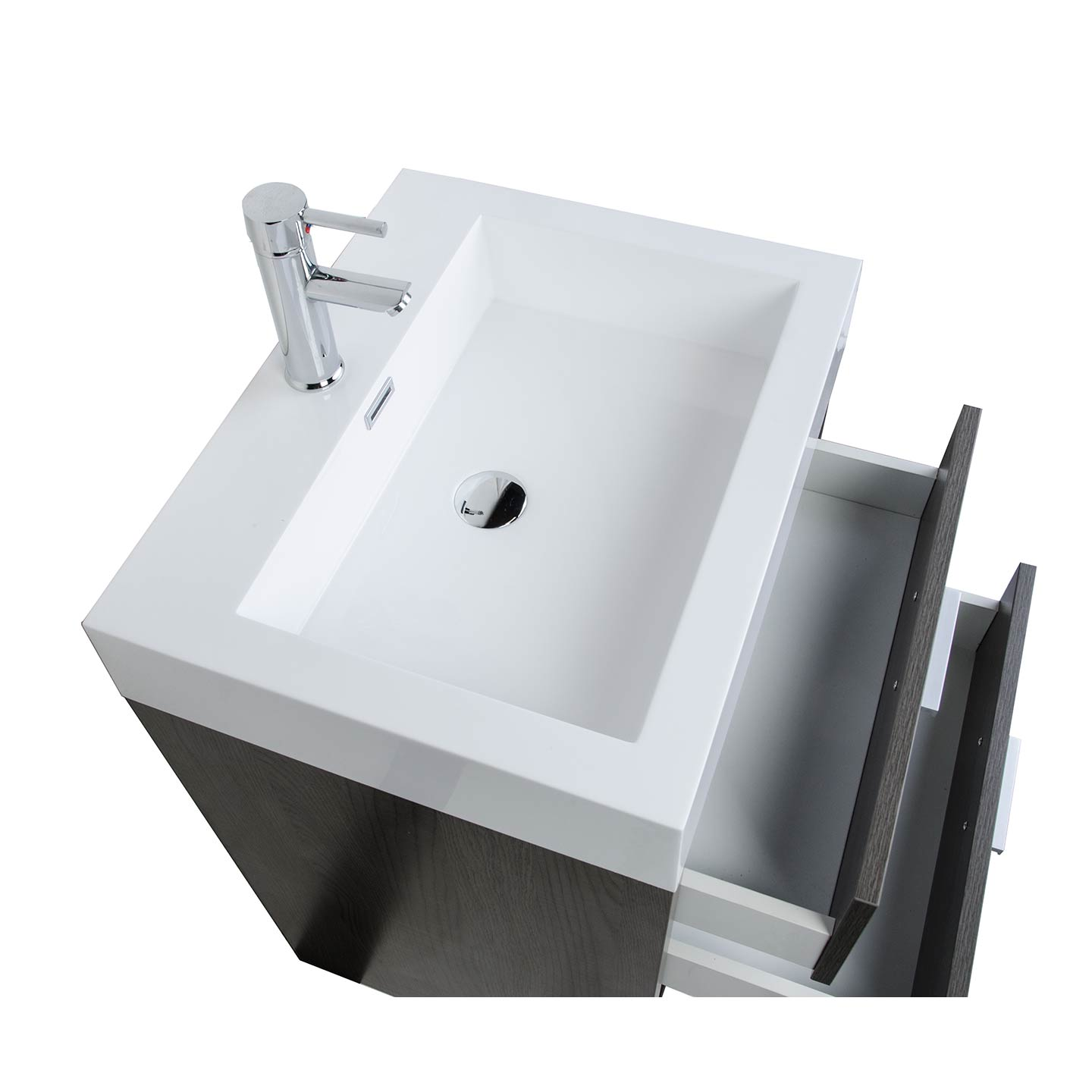 wash bathroom mirror vessel montara sink optional vanities teak cabinet grey gray vanity