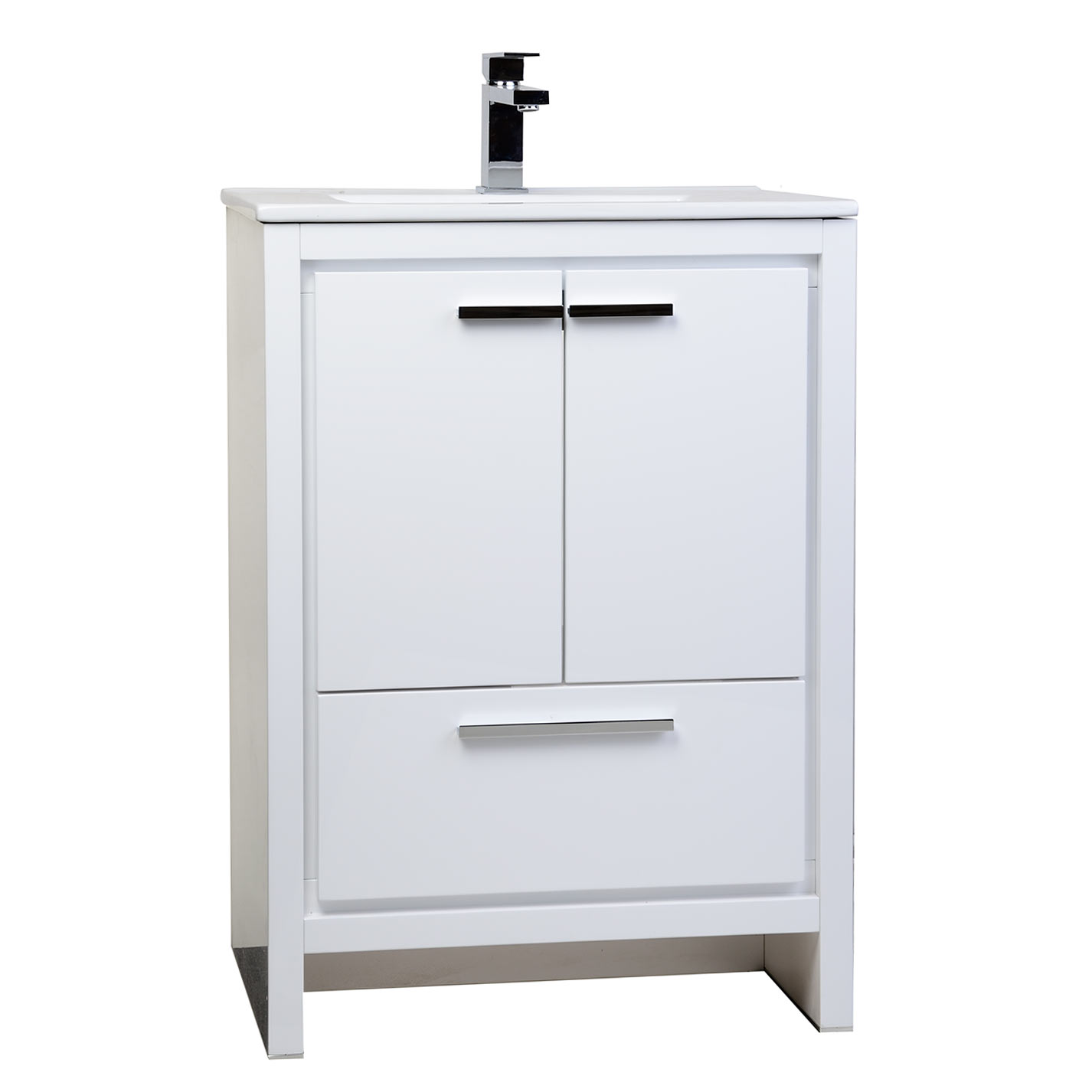 Buy Cbi Enna 23 5 Inch White Modern Bathroomvanity Tn