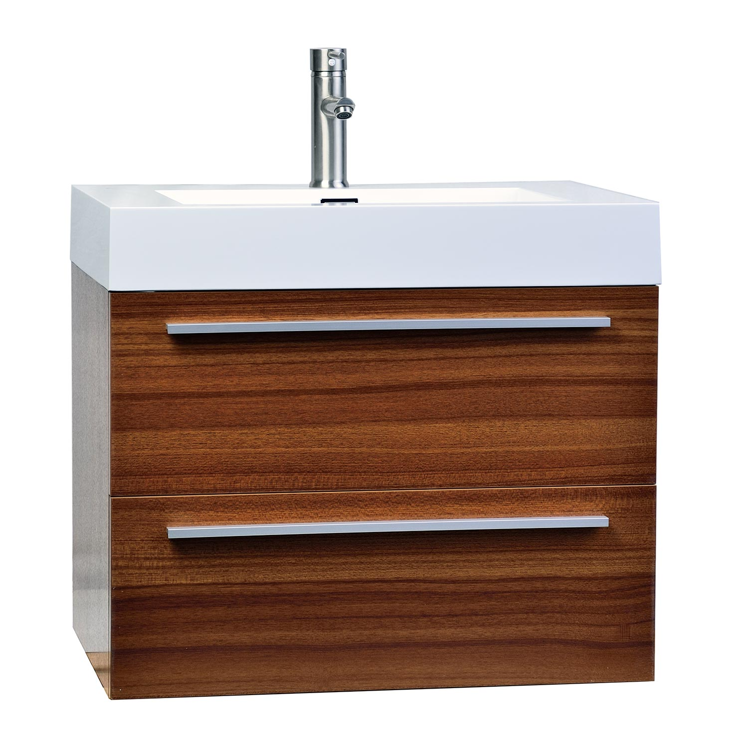 Miraculous 26 75 Single Bathroom Vanity Set In Teak Tn T690 Tk Home Remodeling Inspirations Genioncuboardxyz