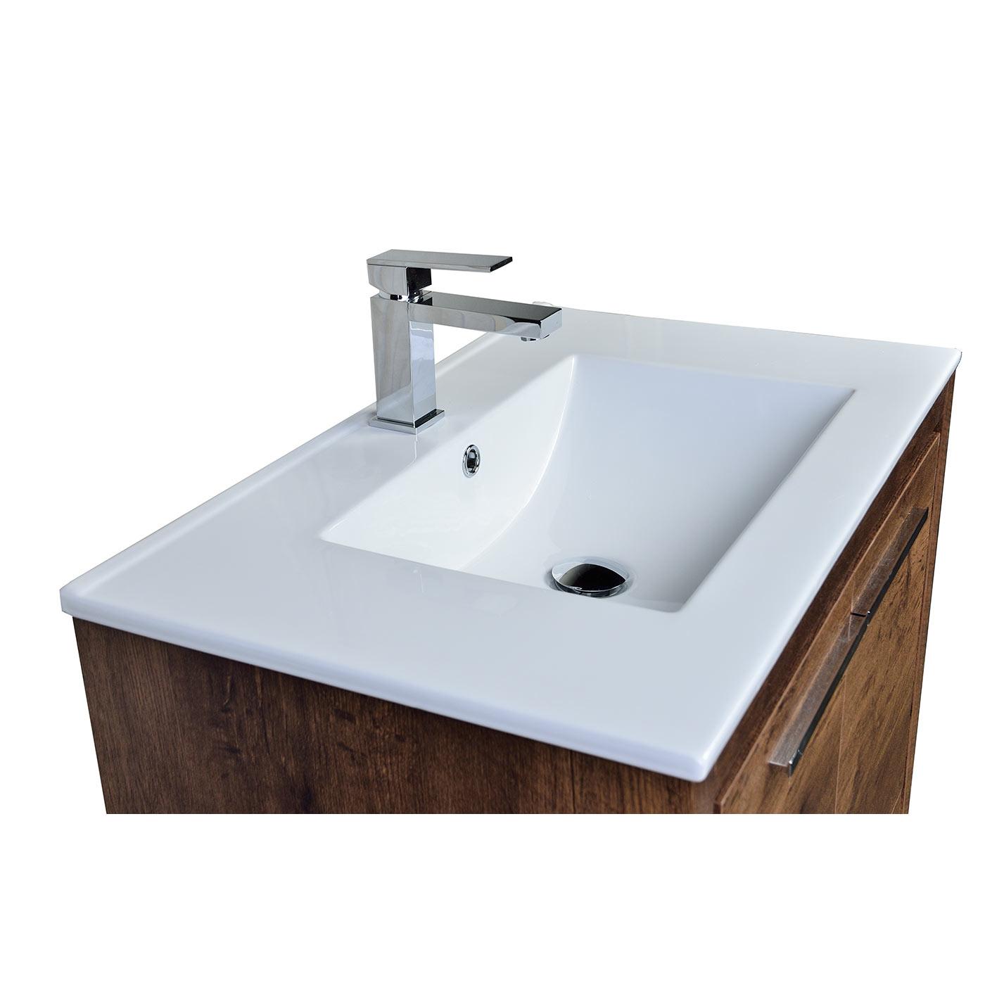 Buy CBI Enna 30 inch Rosewood Modern Bathroom Vanity TN L750 RW on ConcepBath