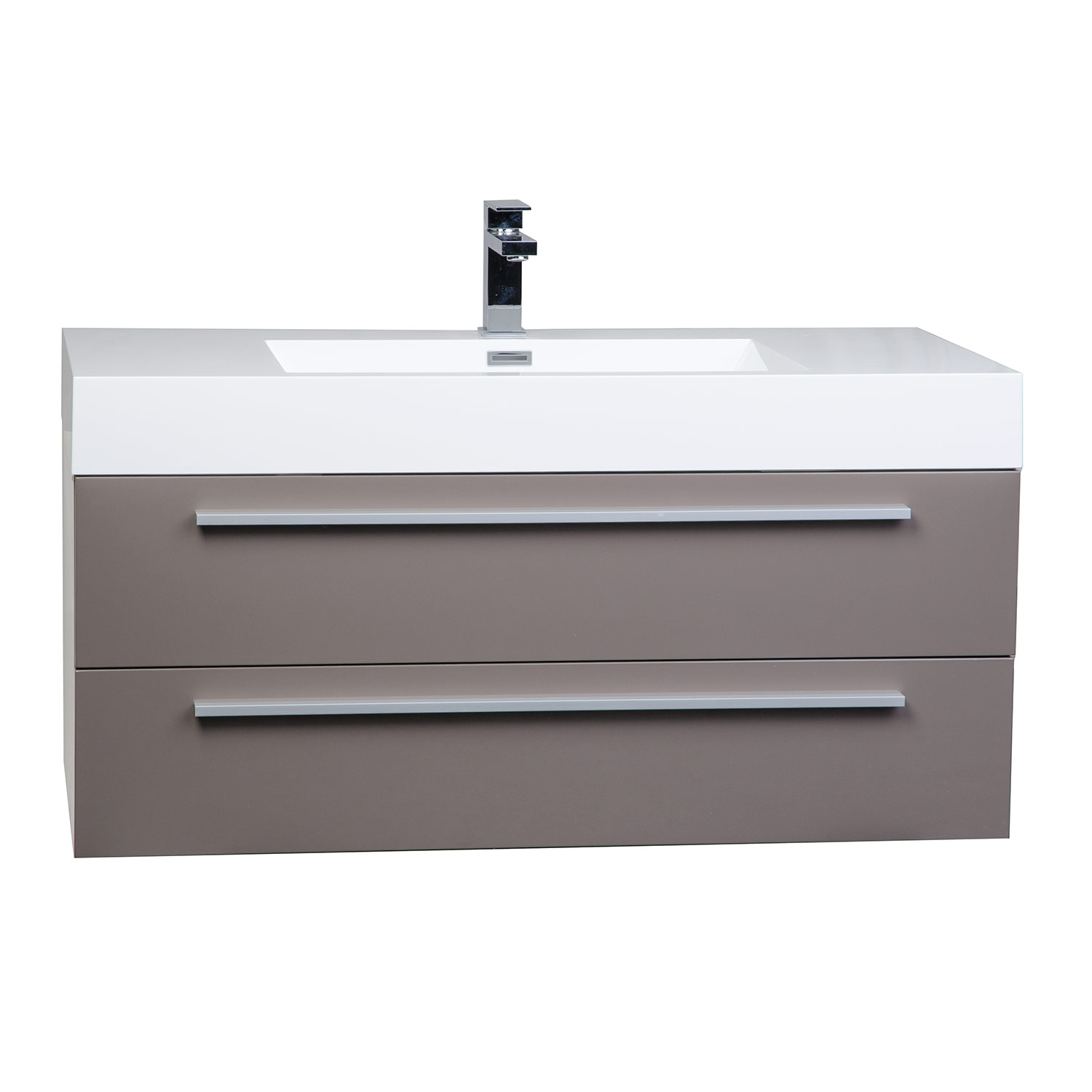 Buy inch wall mount contemporary bathroom vanity for Restroom vanity