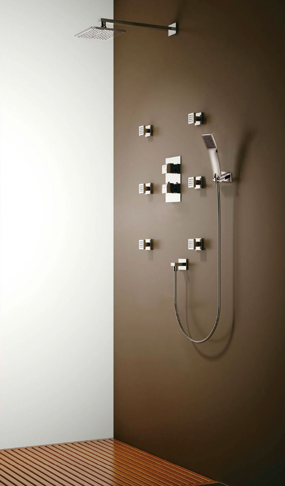 BuyOceanus Triple Thermostatic Shower Valve with Diverter with Fixed ...