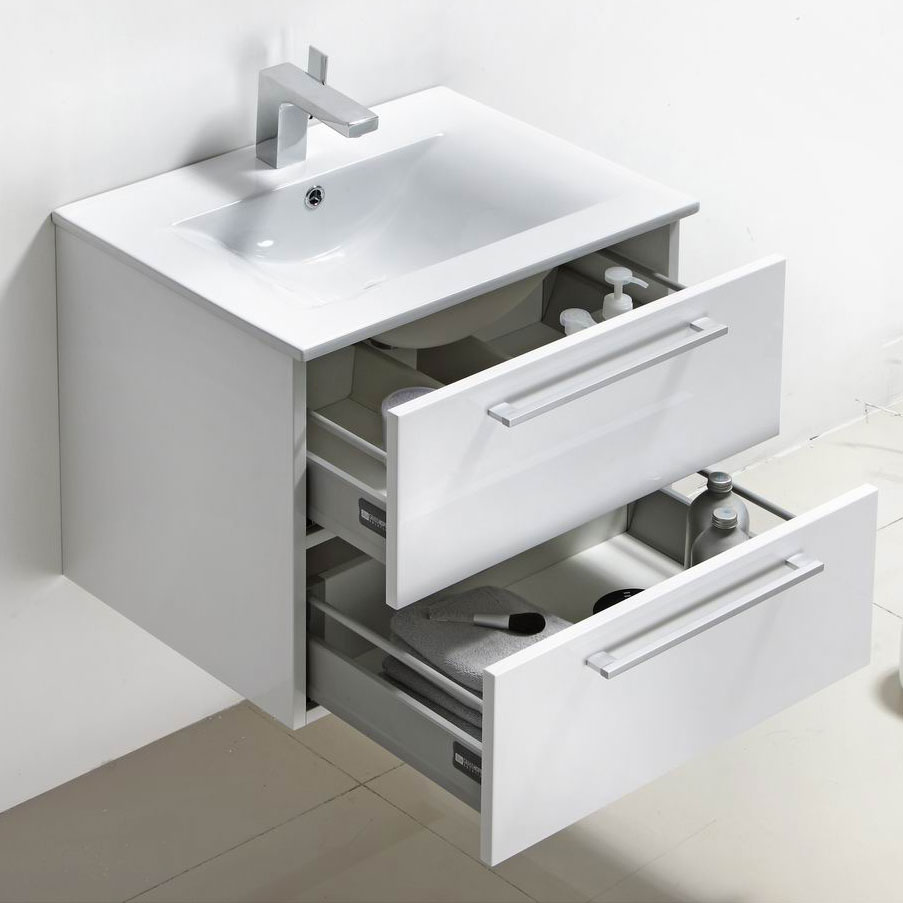 Extraordinary 80 24 Inch Floating Bathroom Vanity Design