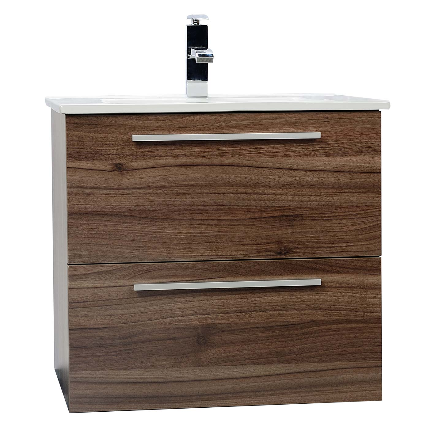 inch vanities tn set free mount wall bathroom shipping double camino vanity walnut modern wn