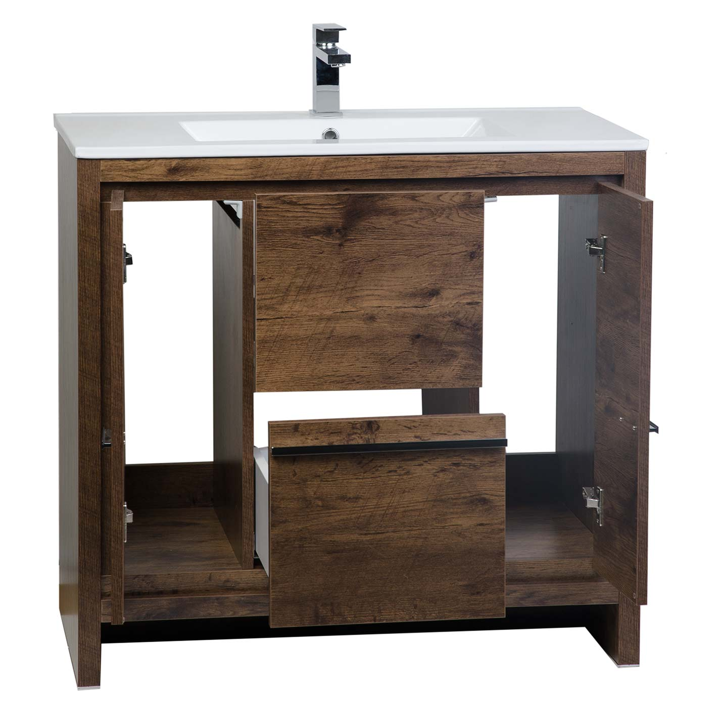 Contemporary bathroom vanities 36 inch - Cbi Enna 36 Inch Rosewood Modern Bathroom Vanity Tn La900 Rw