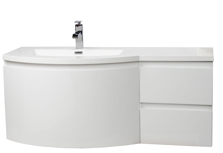 Buy Laurance 48 Inch Bathroom Vanity By CBI High Gloss