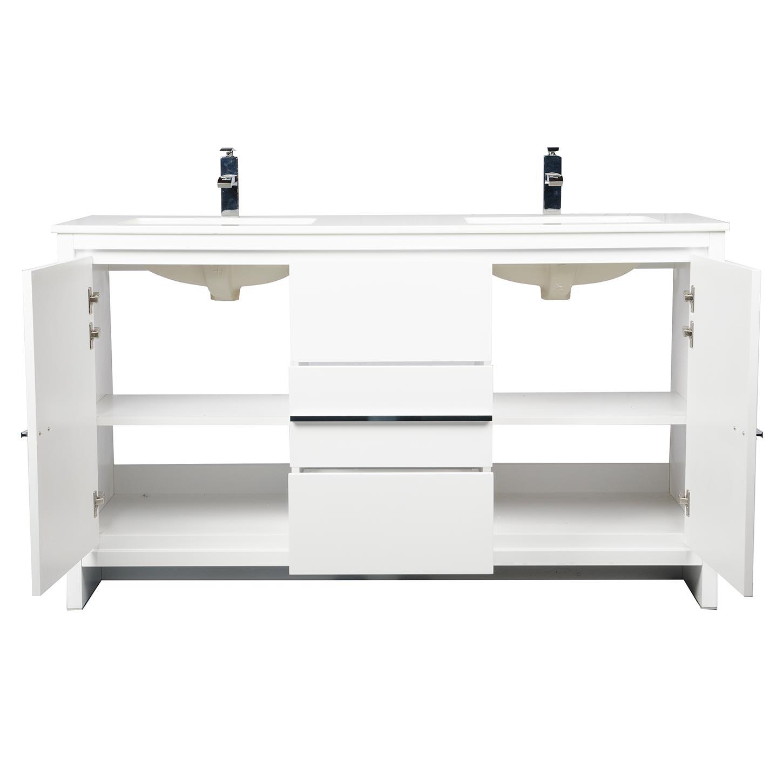 buy cbi enna 59 inch modern bathroom vanity in white tn