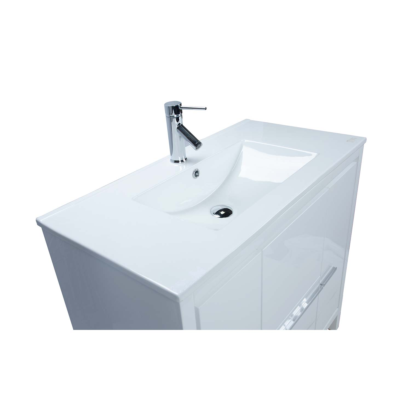 cbi enna 395 inch grey oak modern bathroom vanity tnla900go