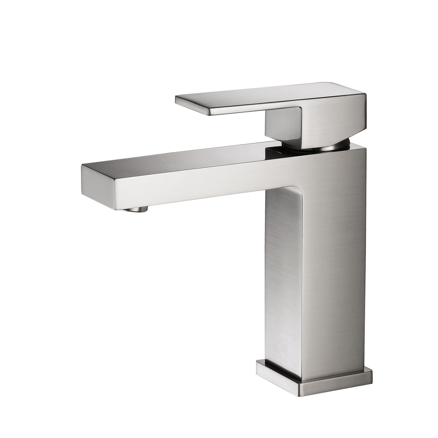CBI Hudson Single Handle Bathroom Faucet In Brushed Nickel AV BF03BN