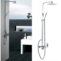Poseidon Brass Contemporary Tub and Shower Set with Handset CL-JDL-8606100