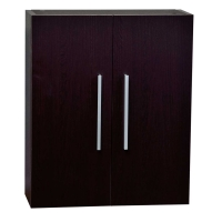 Over The Toilet Wall Cabinet In Espresso 20.5 In. W X 24.4 In