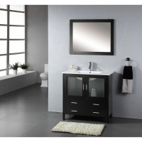 "35.5"" Single Bathroom Vanity Set in Espresso AG-AM015"