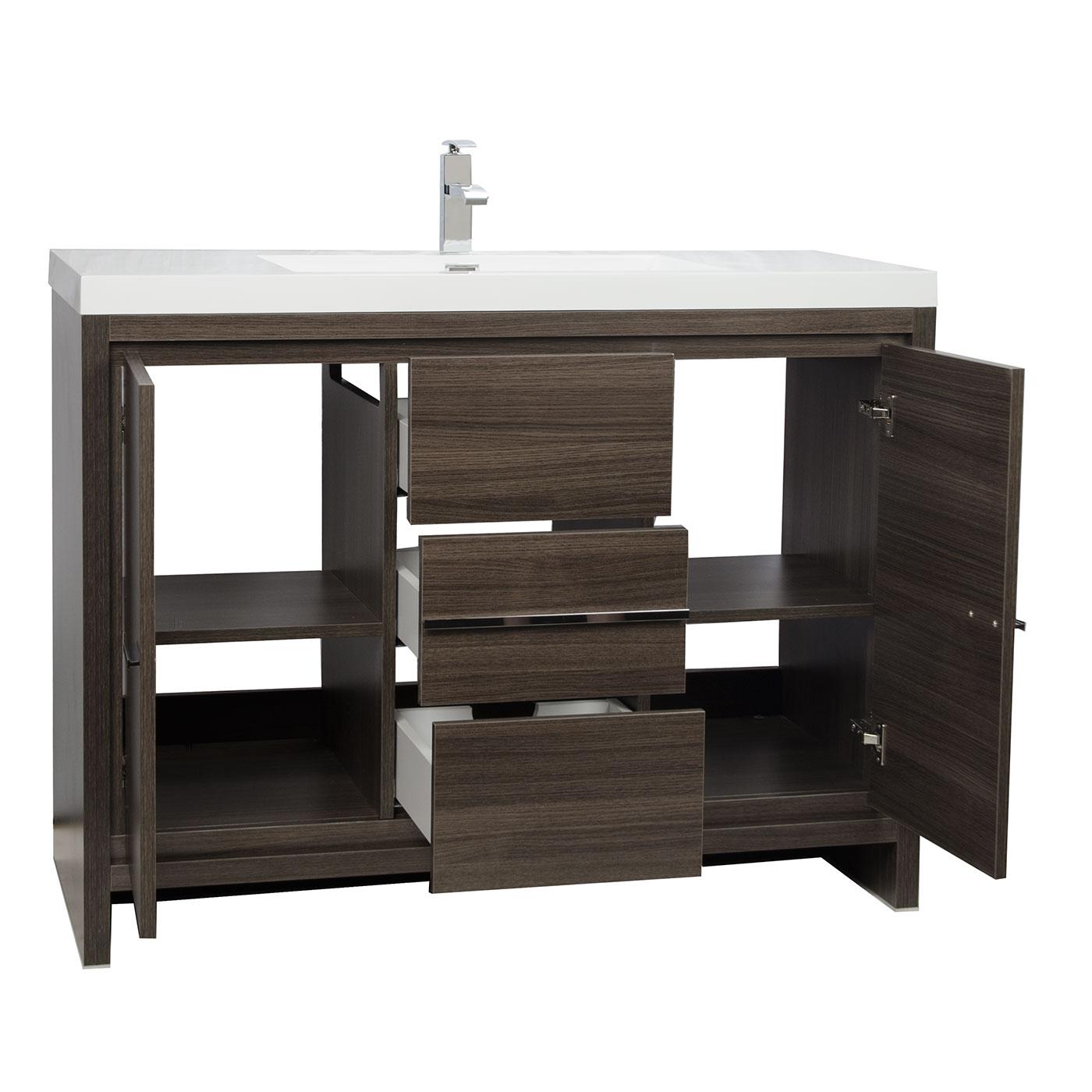 42 Inch Modern Bathroom Vanity Shapeyourminds Com