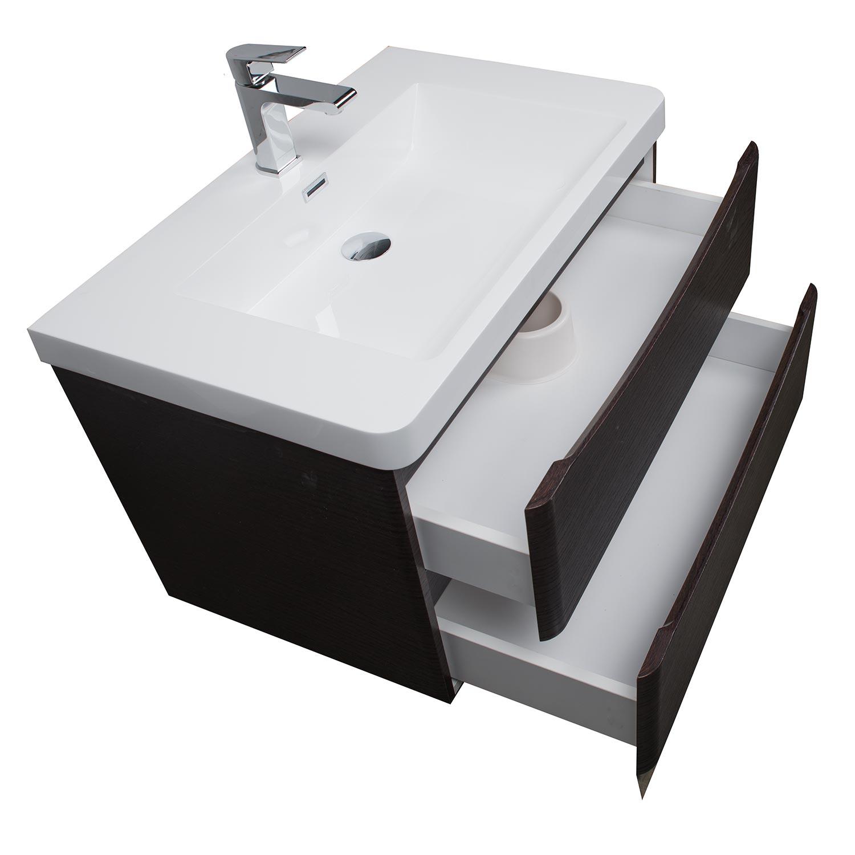 Buy Merida 30 Wall Mount Bathroom Vanity Chestnut Tn Sm760 Cn On Conceptbaths Com