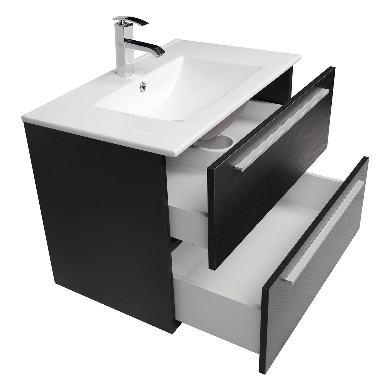 Buy Nola 29 5 Inch Wall Mount Modern Bathroom Vanity Espresso Tn T750c Wg On Conceptbaths Com Free Shipping