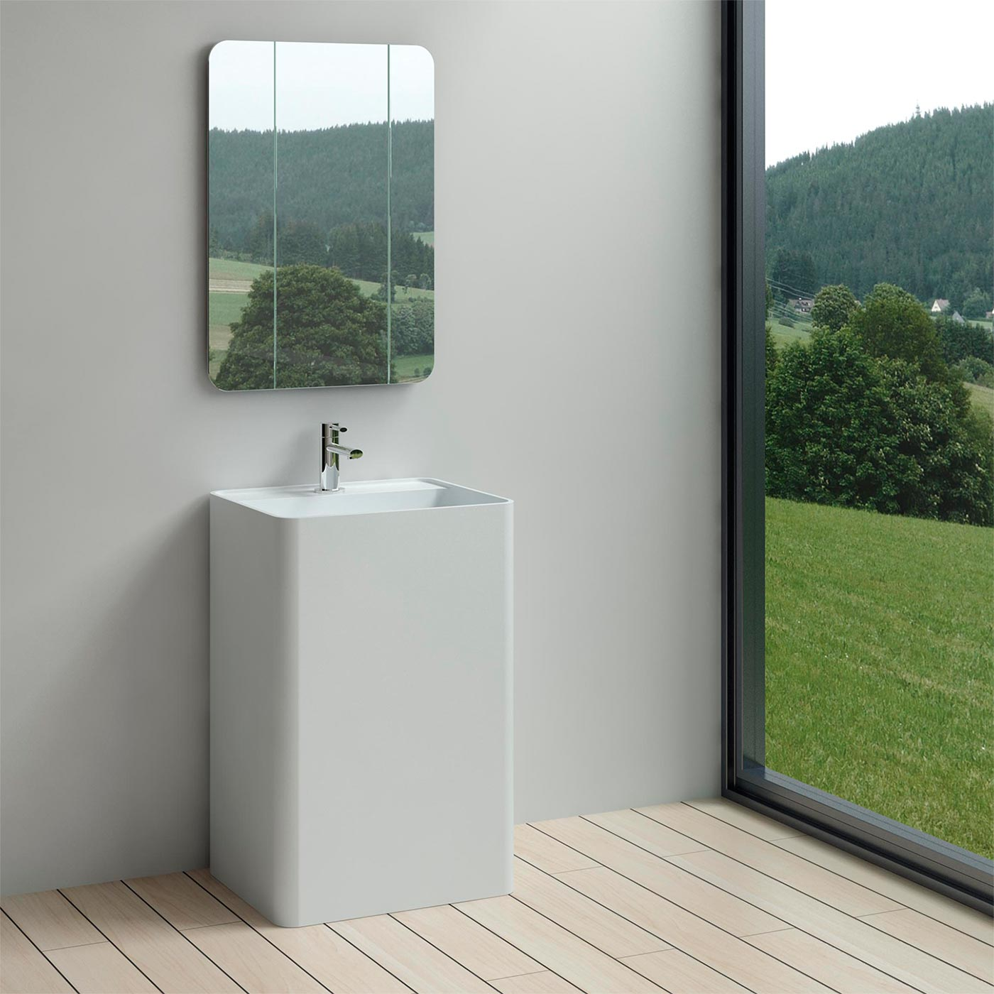 free standing bathroom sinks buy alpsen free standing solid surface resin sink tb 18426