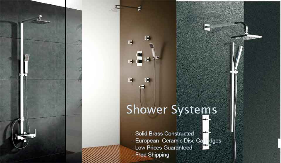 high quality bathroom shower sets