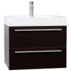 "26.75"" Single Bathroom Vanity Set in Espresso TN-T690-WG"