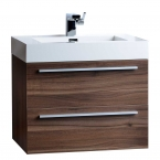 "26.75"" Single Bathroom Vanity Set in Black TN-T580-GO"