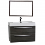 "31.5"" wall hung bathroom vanity grey oak FRESCA"