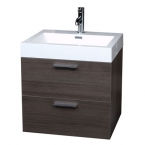 "22.75"" Single Bathroom Vanity Set in Light Teak TN-T580-GO"