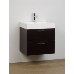 "Single Bathroom Vanity Set Espresso 22.75"" TN-T580-WG"