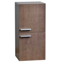 12 Inch Brown Linen Side Cabinet TN-T690-SC-GO